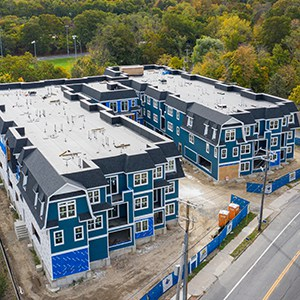Overbay Apartments construction in progress