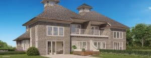 Indian HIlls rendering - rear view