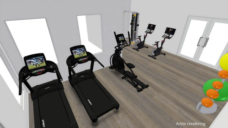 Overbay Gym Rendering