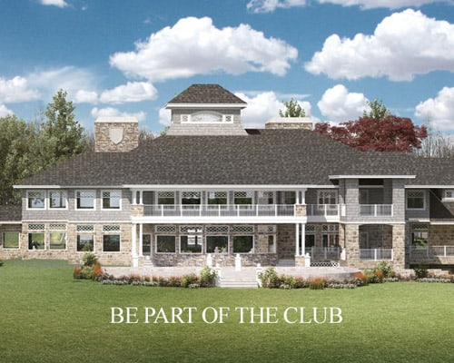 The Preserve at Indian HIlls Clubhouse rendering