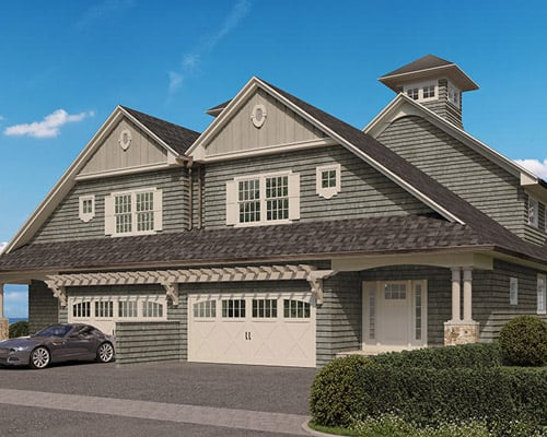 The Preserve at Indian HIlls townhouse rendering front
